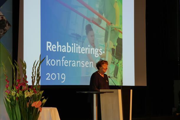 Marianne Borgen åpner Rehabiliteringskonferansen 2019