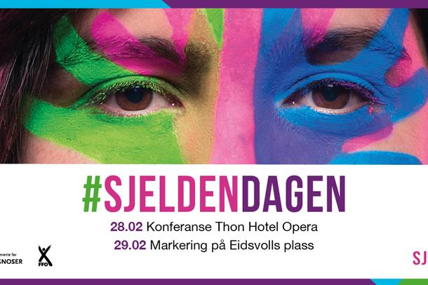 Logo for sjeldendagen 2020