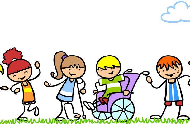 Illustrasjonsbilde av glade barn