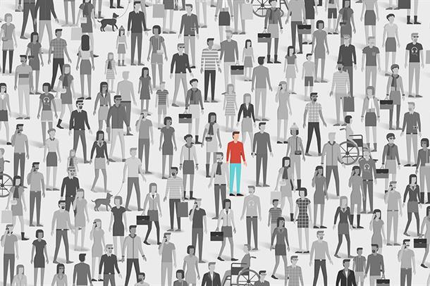 Illustrasjon av mennesker