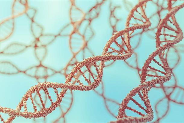 Illustrasjon av gener